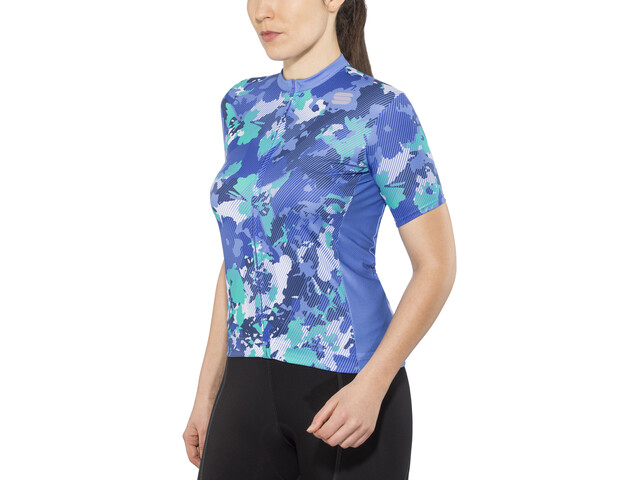 Sportful Loto Maillot Mujer, parrot blue